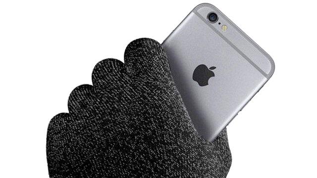 Nueva patente de Apple permitirá usar el iPhone con guantes