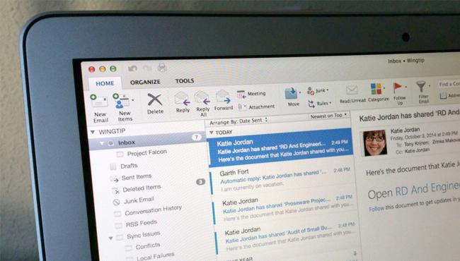 Outlook en Mac: soluciona el error al actualizar la base de datos