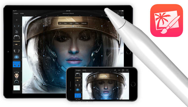 Pixelmator se actualiza mirando al iPad Pro y el 3D Touch