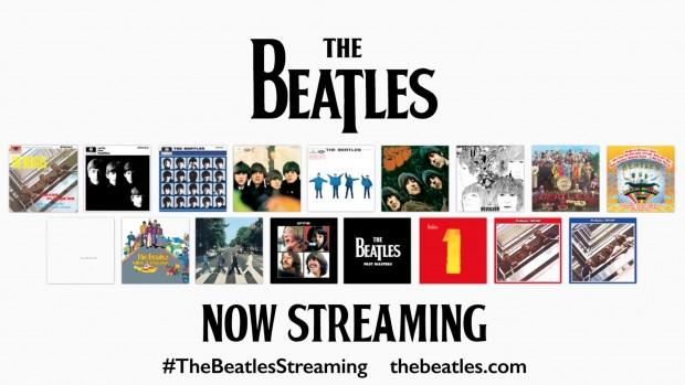 The Beatles por fin en streaming