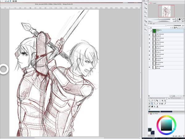 Astropad_Manga Studio