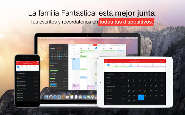 Fantastical 2 Sincronización