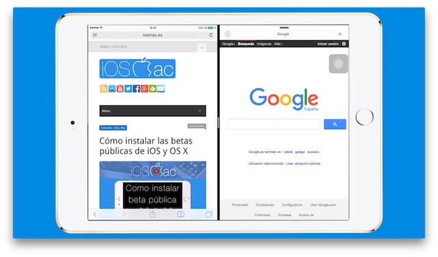 WebPad, SplitView de Safari incluso en iPads que no lo soportan [Vídeo]