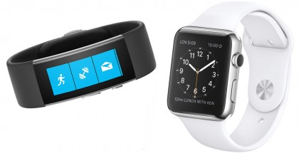apple watch vs microsoft band