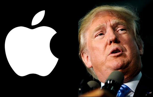Donald Trump dice que obligará a Apple a fabricar sus productos en Estados Unidos