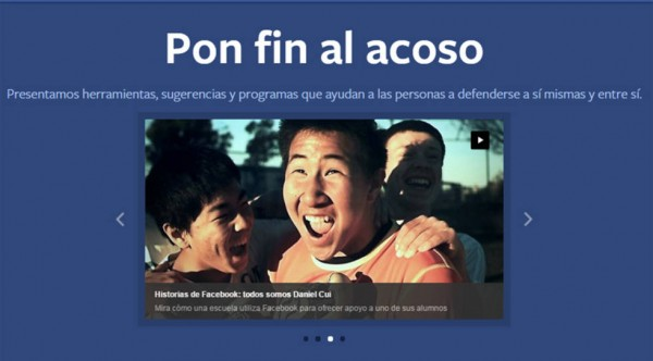 facebook antiacoso
