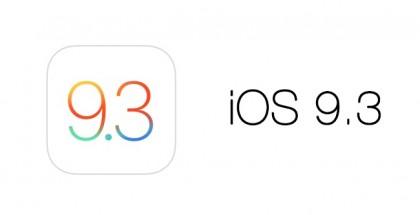 iOS 9.3 ya disponible - 0