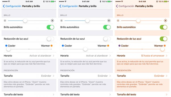 iOS 9.3 ya disponible - 12