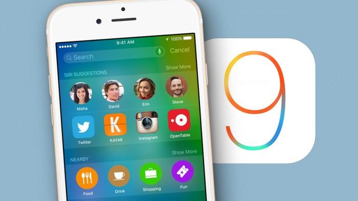 iOS 9 ya está instalado en 3 de cada 4 dispositivos de la compañía