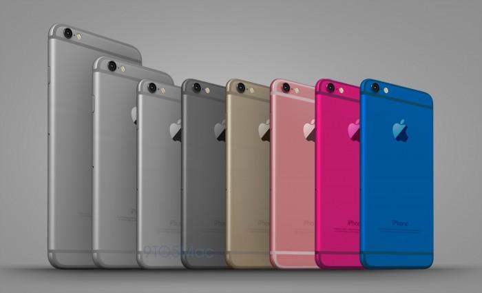 Rumor: iPhone 6c, podría tener pantalla de 4 pulgadas, bordes curvos y nuevos colores