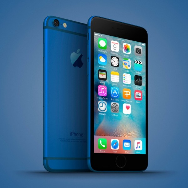 iphone 6c azul metalico