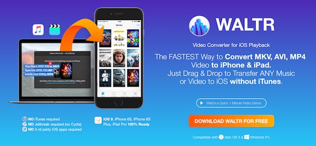 WALTR: cómo guardar musica y películas en tu iPhone sin usar iTunes