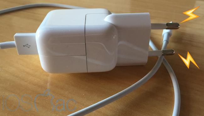 Apple cambiará tus cargadores para evitar que mueras electrocutado