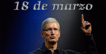 iPhone 5se - 18 de marzo