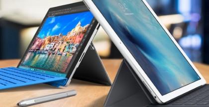 iPad pro surface