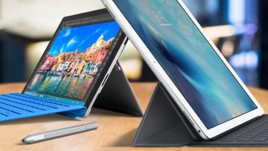 El iPad Pro supera en ventas a la Surface, pero ambas pierden