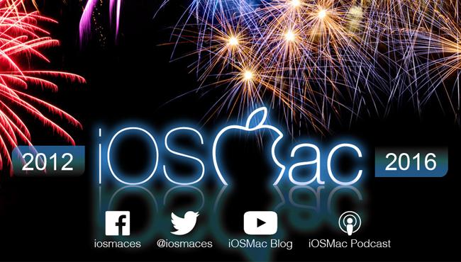 iOSMac cumple 4 años, gracias a todos vosotros