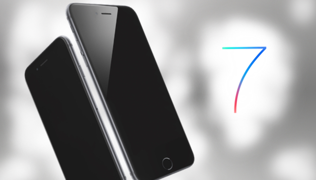 Un iPhone 7 similar en tamaño al iPhone 6s