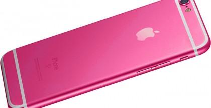 iphone rosa 5se