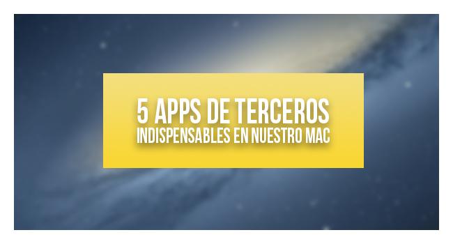 5 apps de terceros para OS X indispensables en tu día a día
