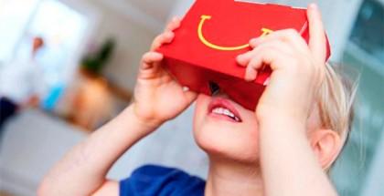 Mcdonalds Gafas VR