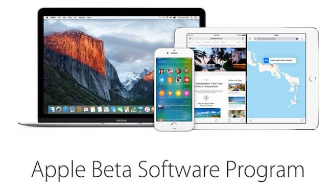 Apple lanza versiones betas para desarrolladores de todos sus OS