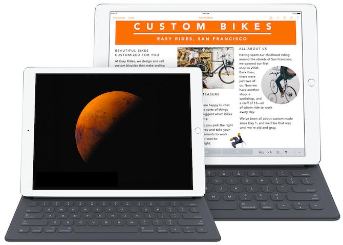 El nuevo iPad Pro de 9,7 pulgadas por 599$