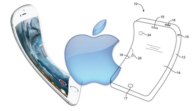 Apple patenta un iPhone flexible con pantalla OLED