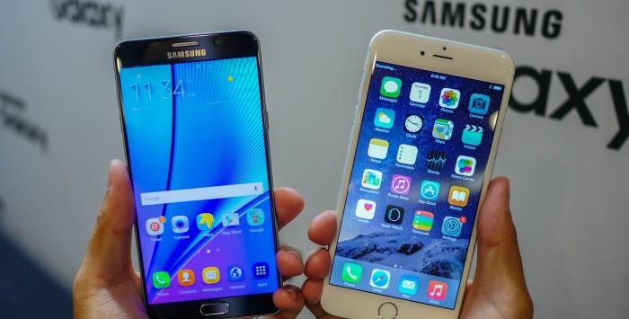 iPhone 6s vs Galaxy S7: ¿Qué dispositivo resiste más al agua y a los golpes?