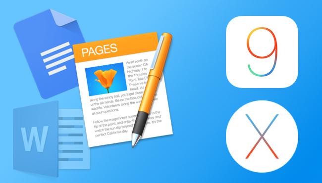Pages: Conceptos básicos en iOS y OS X El Capitán