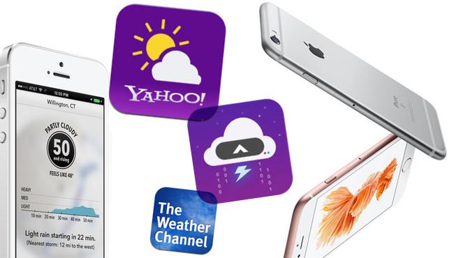 7 apps de iPhone para conocer el tiempo los 7 días de la semana