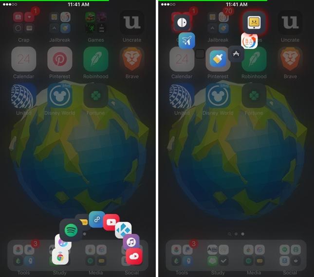 Exsto: Tweak que permite transformar tu experiencia con el uso de carpetas en iOS