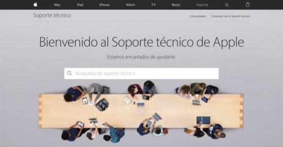 El soporte t�cnico de Apple lanza una nueva p�gina web