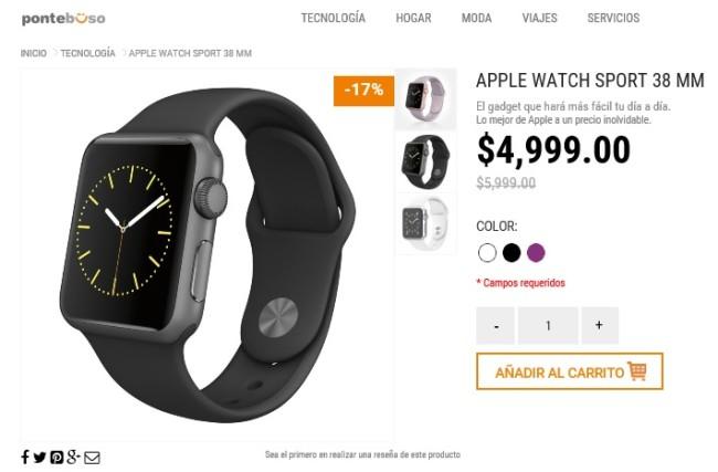apple watch oferta