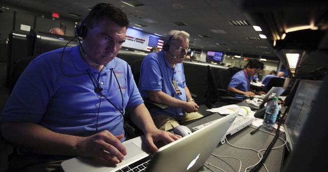 Macbook en la NASA