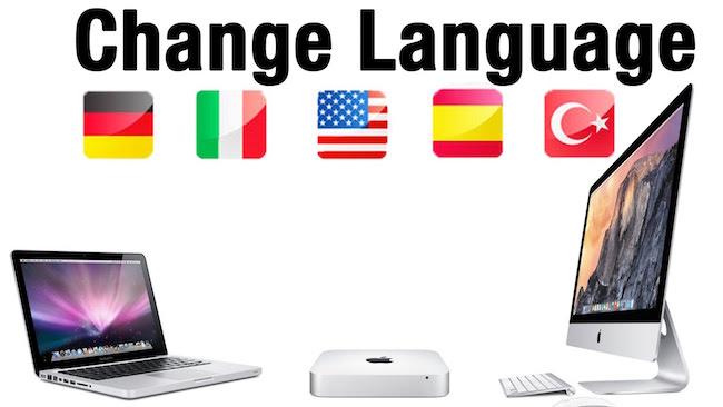 Mac OS X: cómo añadir y cambiar el idioma