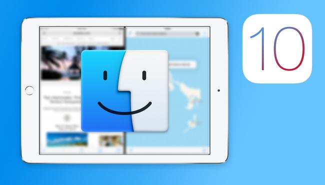 iOS 10 debería incluir un Finder como gestor de archivos