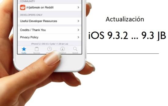 Jailbreak iOS 9.3.2… 9.3 Actualizaci�n [Abril 2016]
