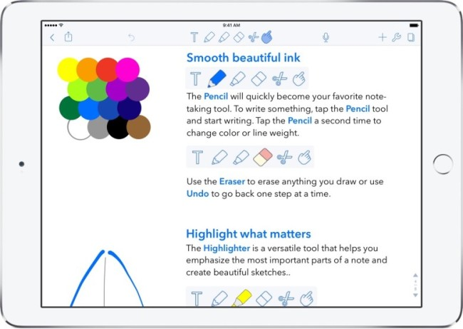notability with apple pencil