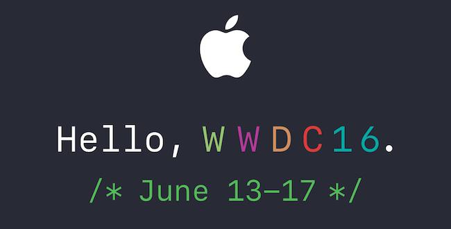 WWDC 2016: Nuevos fondos de pantalla inspirados en la invitación.