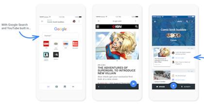 Google Space iOS