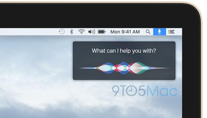Siri OS X 10.12 5