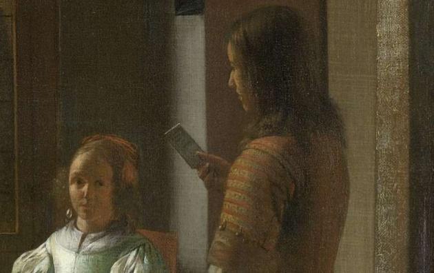 tim cook ve un iphone en un cuadro de 1670