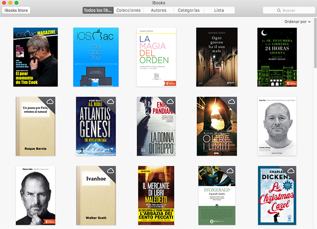 iBooks Mac
