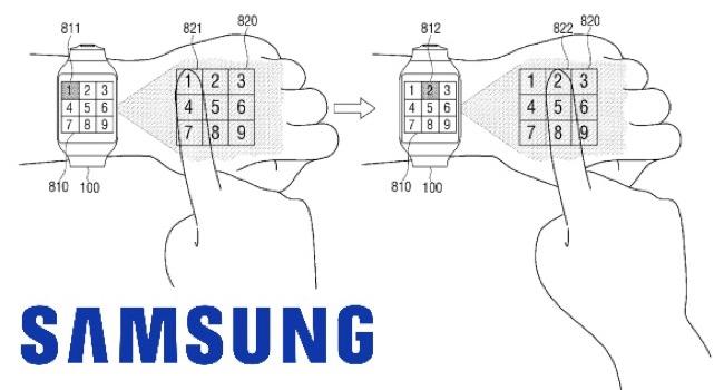 Samsung y su smartwatch revolucionario con proyecciones interactivas (Patente)