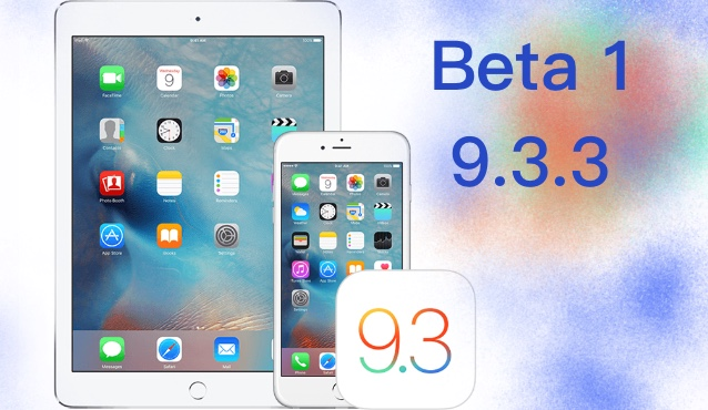 Apple lanza la primera beta de iOS 9.3.3 para solucionar errores