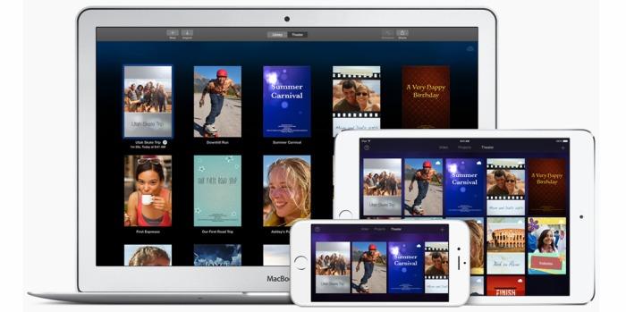 iMovie es actualizado en OS X con importantes mejoras