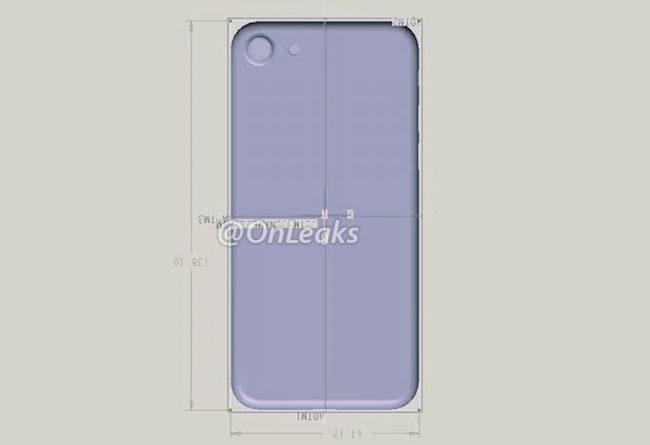iphone 7 boceto diseño