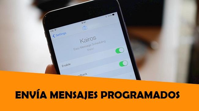 Tweak Kairos: Permite programar iMessage/SMS