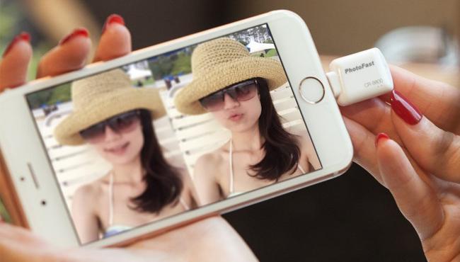iPhone: ampliar su capacidad con un lector de tarjetas microSD